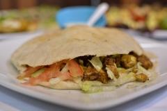 Shawarma con Pan Pita