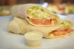 Wrap Jamon y Queso